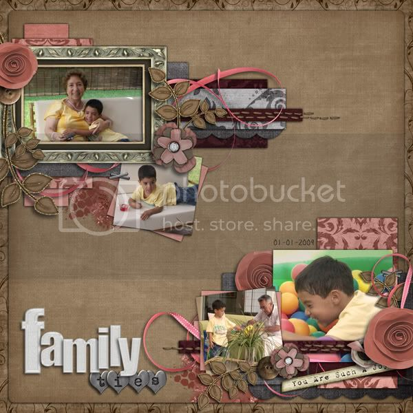 Layout by Roxana; Kit by Unforgettable Moments